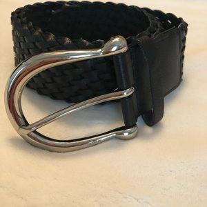 Michael kohrs leather belt